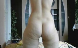 Zorrita amateur con culazo celutítico por webcam